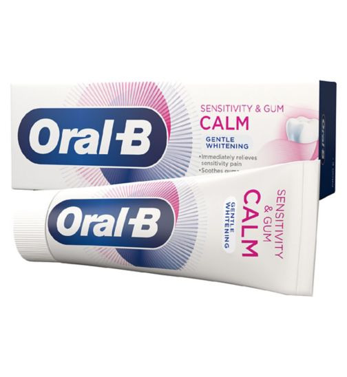 Oral-B Sensitivity & Gum Calm Gentle Whitening Toothpaste 75 ml