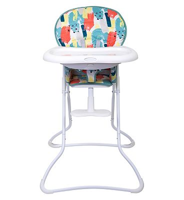 Graco Snack N Stow Highchair - Paintbox