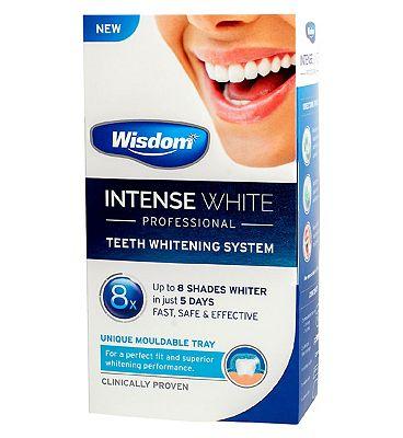 Wisdom Intense White Professional Teeth Whitening Tray System
