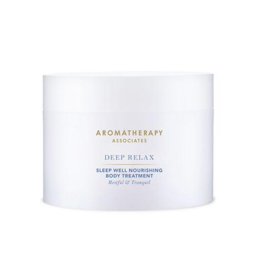 Aromatherapy Associates Deep Relax Sleep Well Nourishing Body Treatment 200ml