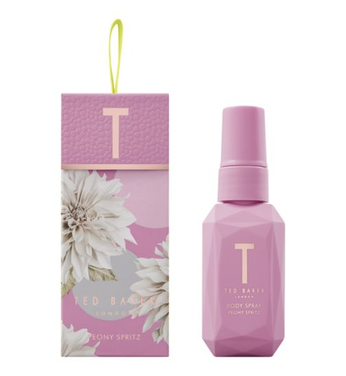 Ted Baker Pretty Little Bloom Peony Spritz Body Spray Gift Set