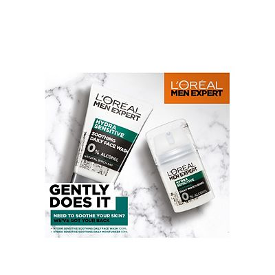 Image of L'Oreal Men Expert Gently Does It Sensitive Skin Duo Gift Set
