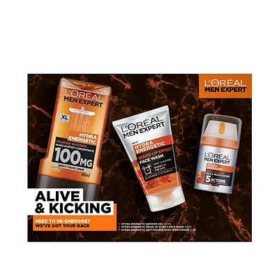Image of L'Oreal Men Expert Alive & Kicking Trio Gift Set