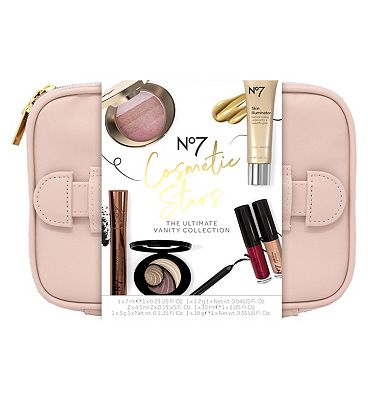 Image of No7 Cosmetic Stars THE ULTIMATE VANITY CASE Christmas Gift Set
