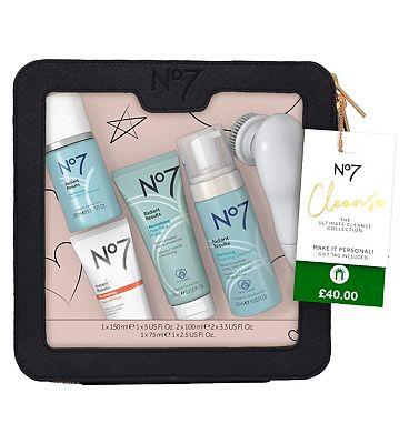 Image of No7 Cleanse THE ULTIMATE CLEANSE COLLECTION Christmas Gift Set
