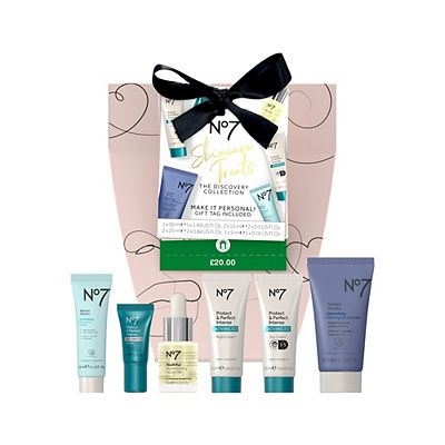 Image of No7 Skincare Treats THE DISCOVERY COLLECTION Christmas Gift Sets
