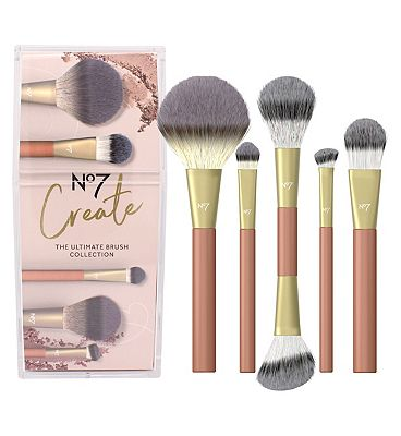 Image of No7 The Ultimate Brush Collection Christmas Gift Set