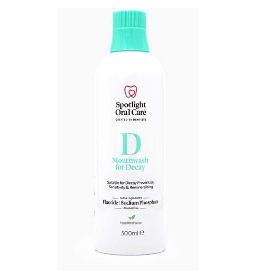Spotlight Oral Care Mouthwash for Decay