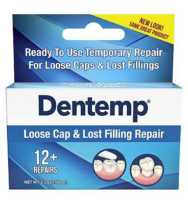 Dentemp Loose Cap And Lost Filling Repair
