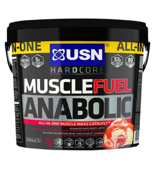 USN Muscle Fuel Anabolic Protein Strawberry - 4kg