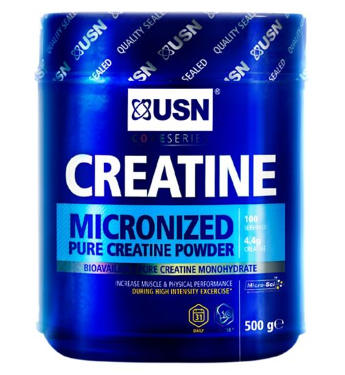 USN Micronised Pure Creatine Powder - 500g