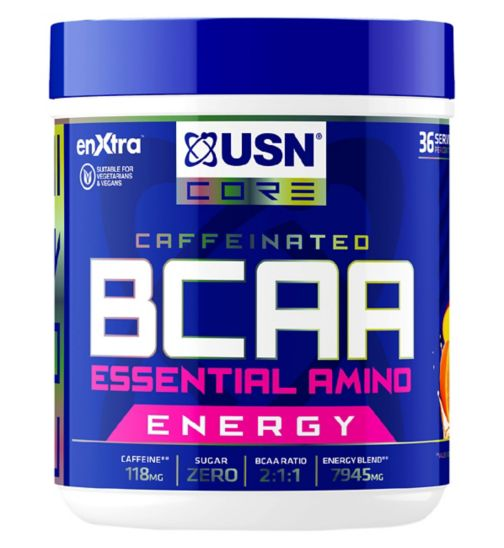 USN BCAA Essential Amino Energy Mango Orange - 400g