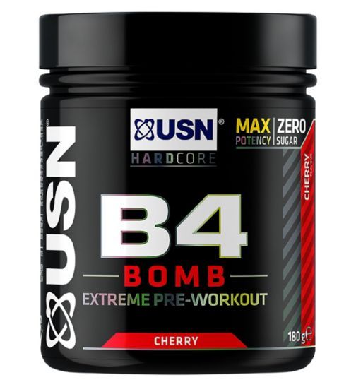 USN B4 Bomb Pre-Workout Cherry - 180g