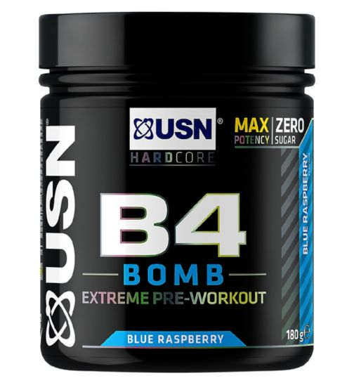 USN B4 Bomb Pre-Workout Blue Raspberry - 180g