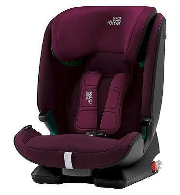 Britax Romer ADVANSAFIX M i-SIZE Car Seat - Burgundy Red