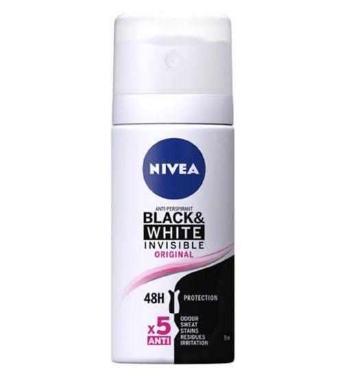 Nivea Anti-Perspirant Deodorant Black and White 35ml