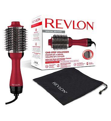 Image of Revlon Salon One-Step Hair Dryer and Volumiser Titanium