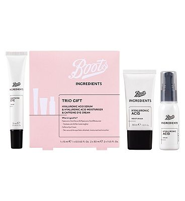 Image of Boots Ingredients Trio Gift
