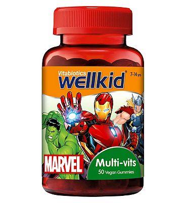 Vitabiotics Wellkid Marvel Multi-vits 50 Vegan Soft Jellies