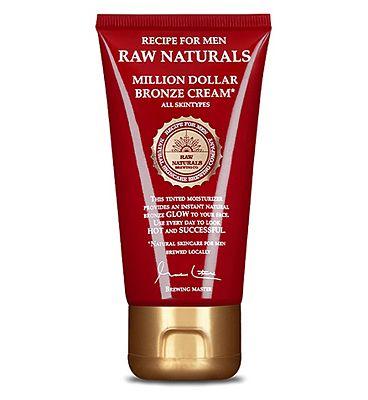 Raw Naturals Million Dollar Bronze Cream - 75 ML