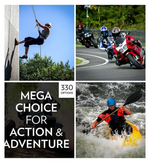 Activity Superstore Mega Choice  Action and Adventure Gift Experience  Pack