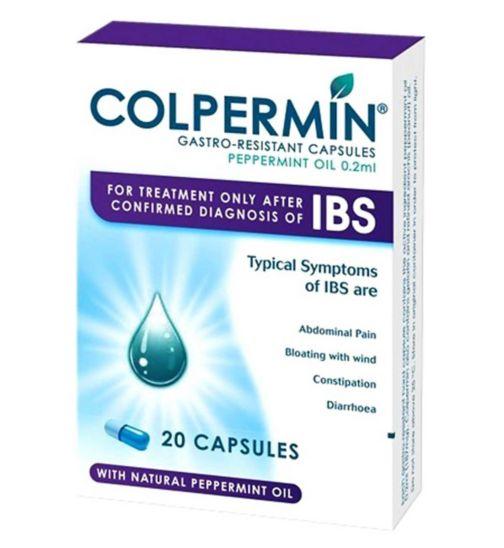 Colpermin Peppermint Oil 0.2ml Gastro Resistant 20 Capsules