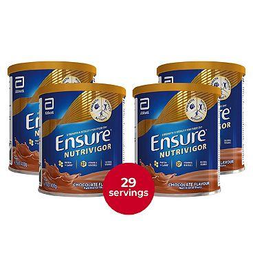 Ensure NutriVigor Shake Chocolate Flavour Bundle- 400g x 4
