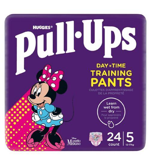 Huggies Pull-Ups Explorers, Girl, Size 1.5-3 Years, Nappy Size 4-5+, 24 BIG KID Pants