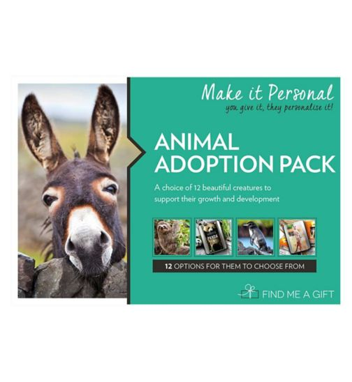 Find Me A Gift - Animal Adoption Pack Gift Voucher