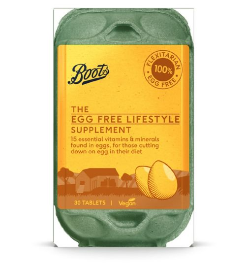 Boots The Egg Free Lifestyle Supplement, 30 Tablets