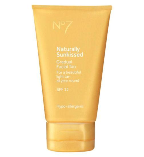 No7 Naturally Sun Kissed Gradual Facial Tan SPF15
