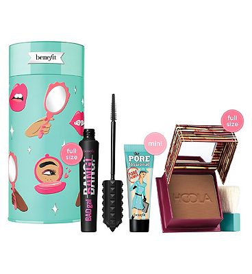 Image of Benefit Badgal To The Bone Mascara, Bronzer & Primer Christmas Gift Set