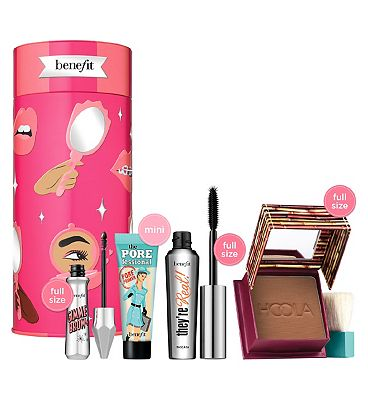 Image of Benefit Bring Your Own Beauty Mascara, Brow, Bronzer & Primer Christmas Gift Set