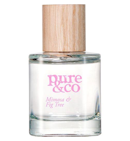 Pure & Co Mimosa and Fig Tree eau de toilette 50ml
