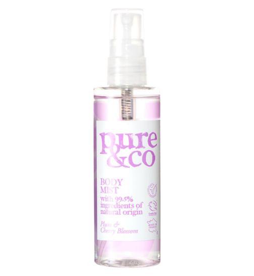 Pure & Co Plum and Cherry Blossom body spray 100ml