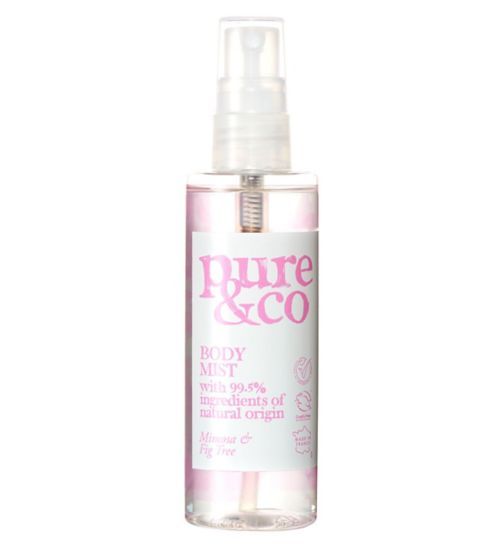 Pure & Co Mimosa and Fig Tree body spray 100ml