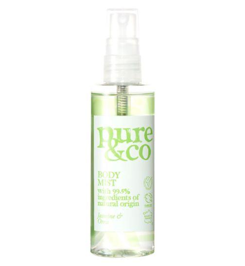 Pure & Co Jasmine and Orris body spray 100ml