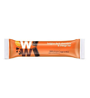 WW Belgian Dark Chocolate & Orange Bar - 15.5g