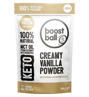 Boostball Protein Powder Creamy Vanilla - 450g