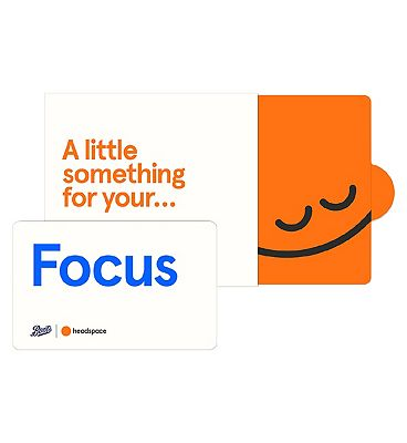 Headspace Focus Giftcard - 6 months Pre-Paid Membership