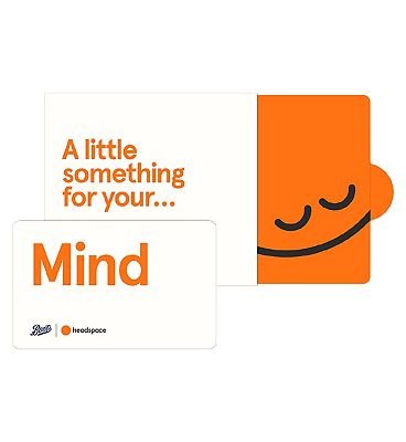 Headspace Mind Giftcard - 6 months Pre-Paid Membership