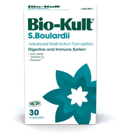 Biokult Boulardii Advanced Mutli-Action Caps 30s