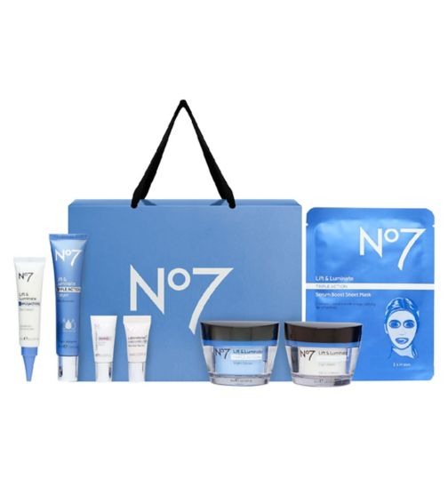 No7 Lift & Luminate TRIPLE ACTION Collection