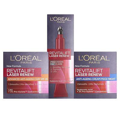 Image of LOreal Paris Revitalift Laser Ultimate Anti Ageing Peel Set