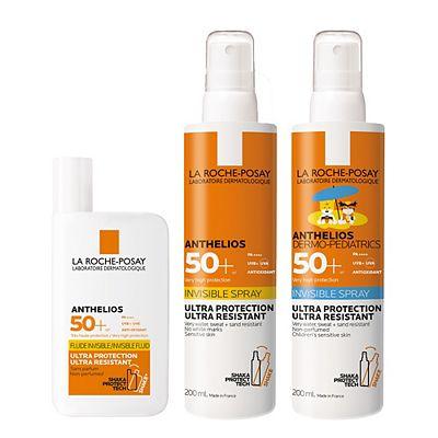 La Roche-Posay Anthelios Family Sun Cream SPF50+ Bundle
