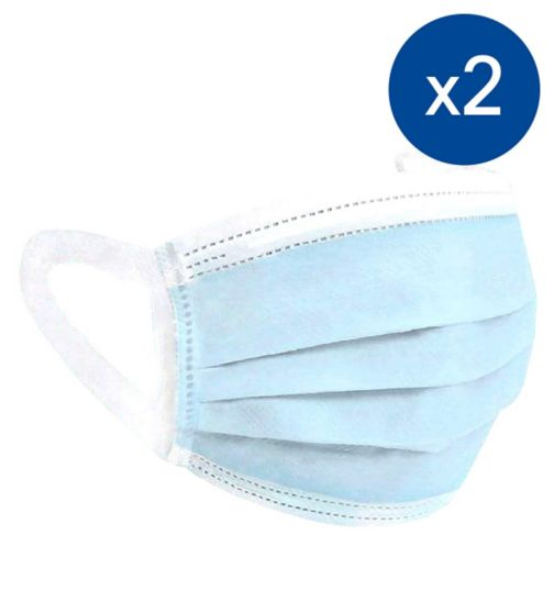 Soft Loop Type IIR BFE>98% 3PLY Face Masks - 100 Pack Bundle (2 x 50 Pack);Soft Loop Type IIR BFE>98% 3PLY Face Masks - 50 Pack;Soft Loop Type IIR BFE>98% 3PLY Face Masks - 50 Pack