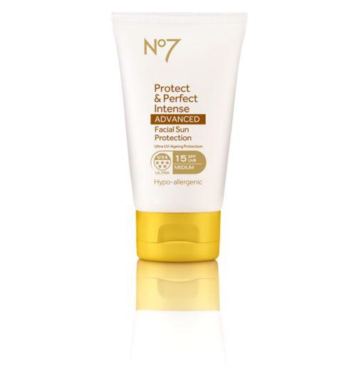 No7 Protect & Perfect Intense ADVANCED Facial Suncare SPF15 50ml