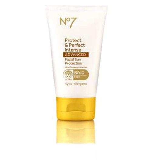 No7 Protect & Perfect Intense ADVANCED Facial Suncare SPF50+ 50ml