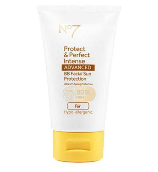 No7 Protect & Perfect Intense ADVANCED BB Facial Sun Protection SPF50 Fair 50ml