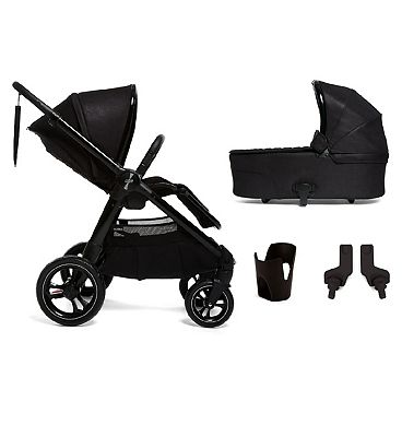 Mamas and Papas Ocarro Pushchair – 4 piece bundle (pushchair, carrycot, adaptors and cup holder)